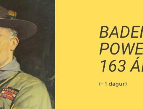 Baden Powell 163 ára (+1 dagur)