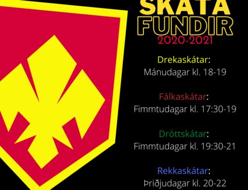 Skátafundir 2020-2021
